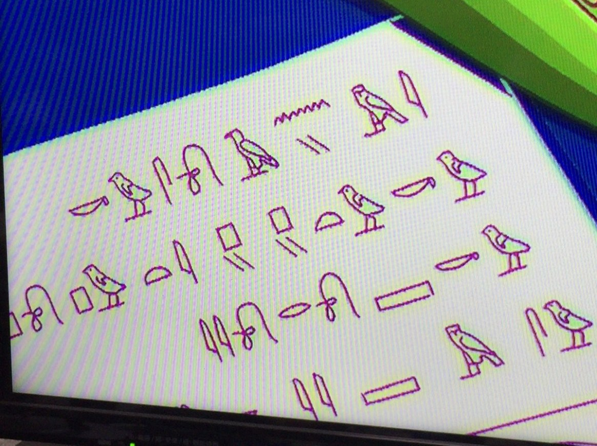 [Genius] people were decipher the hieroglyphs, which came out in Poputepipikku two episodes OP wwwwwwww