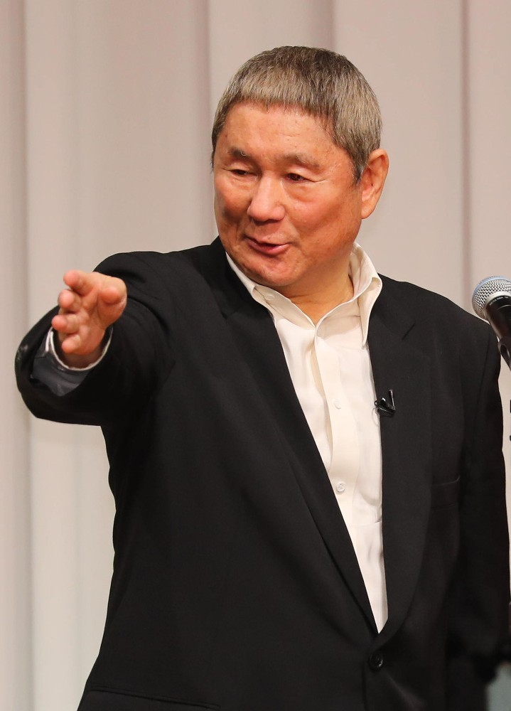 Beat Takeshi, left the company office Kitano