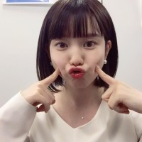 Now the most cute ana, Ayaka Hiroka's funny face wwwwww