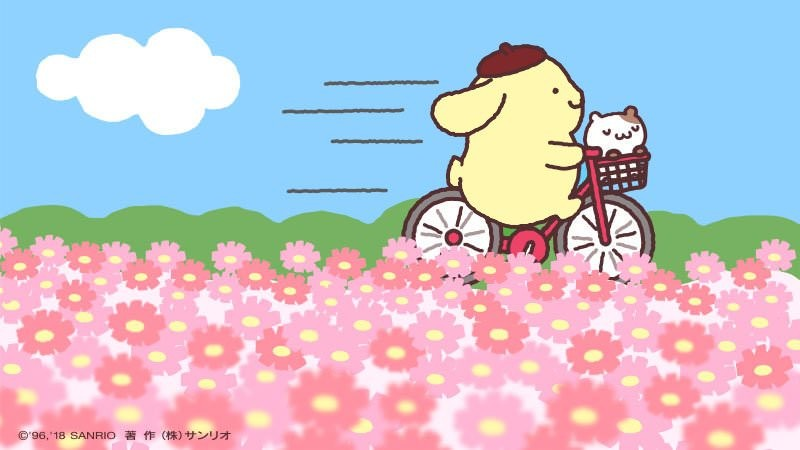 【Sad news】 Pompom Pudding, we will ride two people