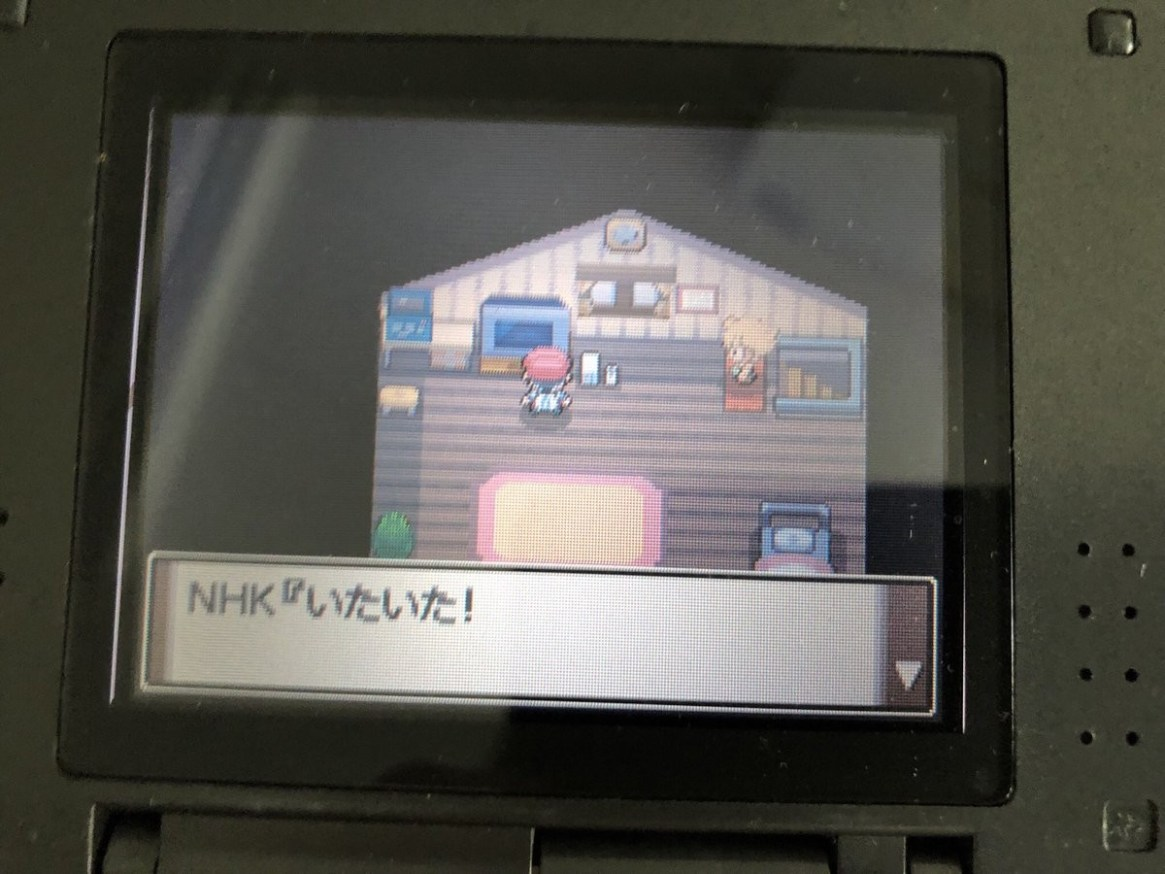 [Image] The result of setting the rival name of Pokemon to