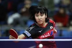 [Sad news] table tennis Miu Hirano (19), will become blonde