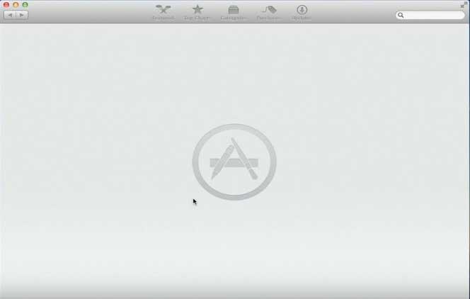 Estado de la ventana del App Store
