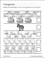 Bahagi Ng Katawan Worksheets For Kindergarten
