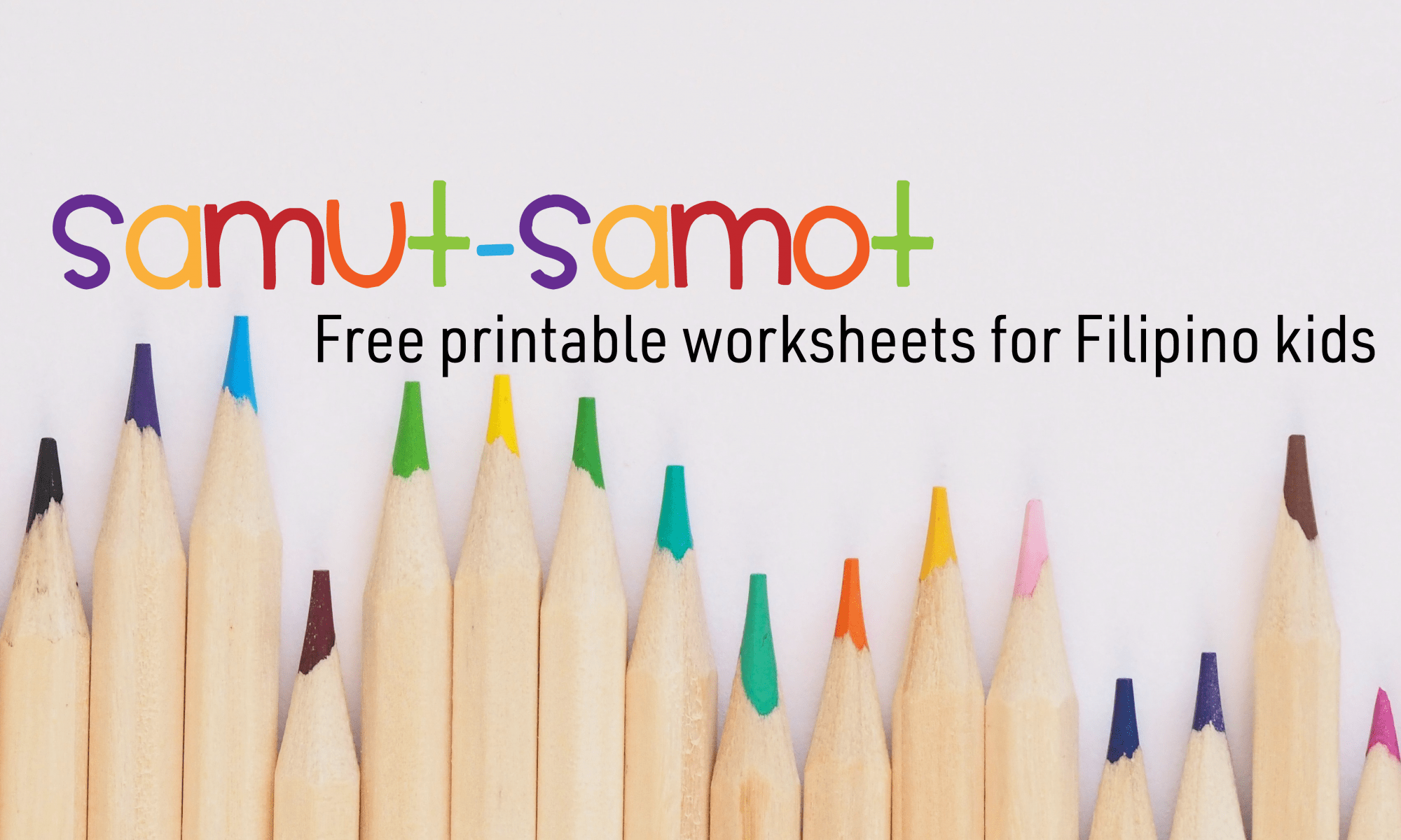 Filipino Worksheets For Preschool Archives