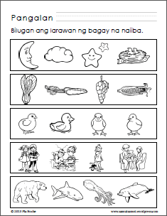 Preschool Worksheets With Filipino Instructions Part 2