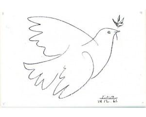 Picassos fredsduva till Europa