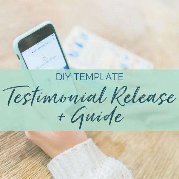 testimonial release contract testimonial coaches entrepreneurs sam vander wielen diy legal templates testimonial template testimonial release template