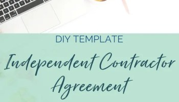diy independent contractor agreement