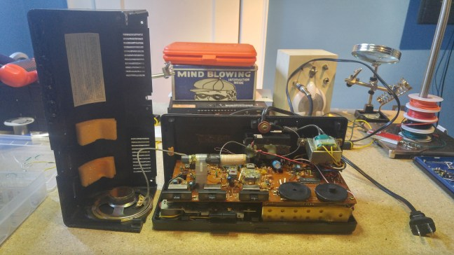 LXI Sears Clock Radio - Case Removed