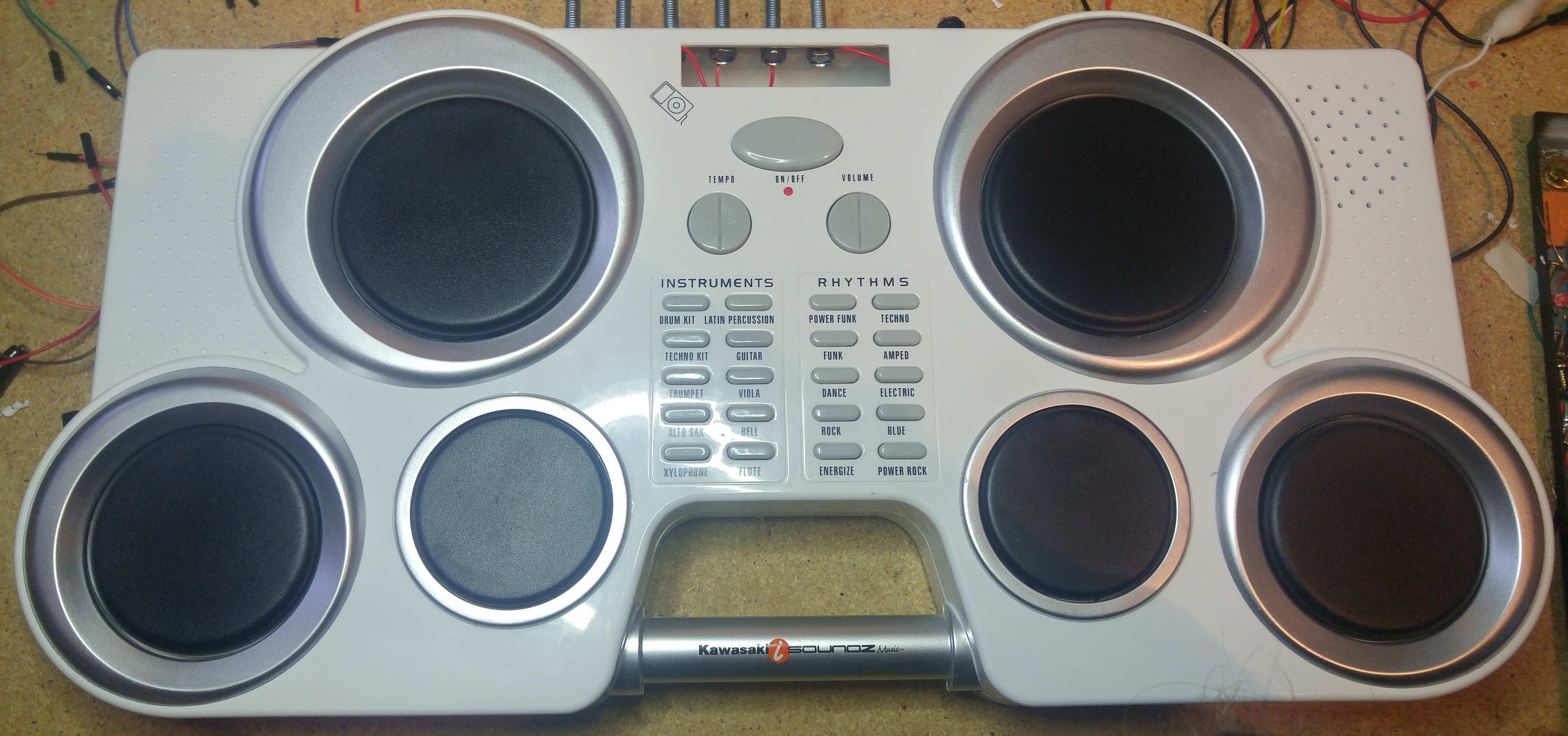 Adding External Triggers - Kawasaki I-Soundz Drums - Sam Vs  Sound