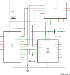 schematic with gsm board [ 1164 x 1287 Pixel ]