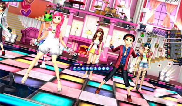 танцевальные игры онлайн