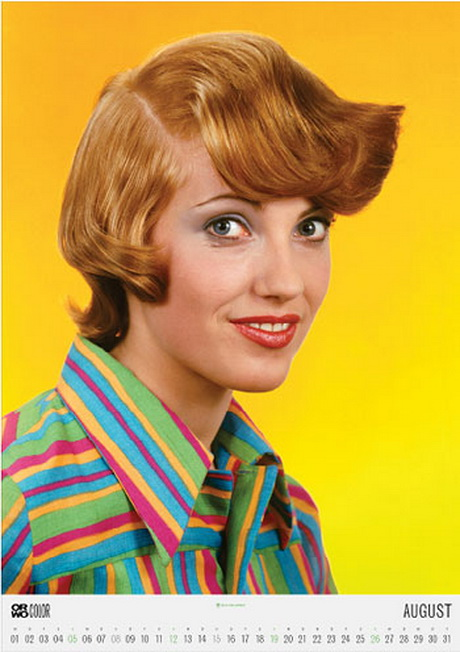 Damen Frisuren 70er Jahre