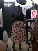 MC of the night Designer Reneta Ndisang