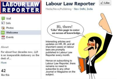 Labour Law Reporter on Facebook