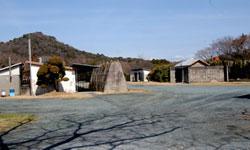 工場敷地内の写真