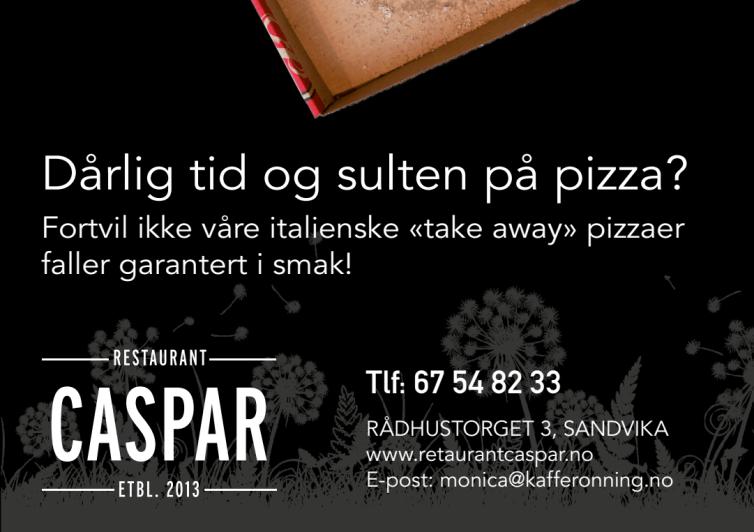 Annonse Restaurant Caspar