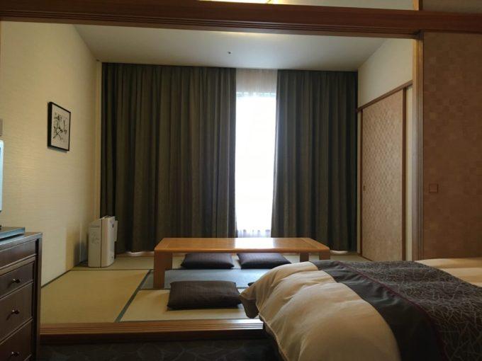 東急ハーベスト旧軽井沢の客室内の和室