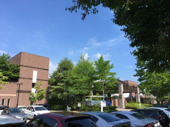 東急ハーベスト旧軽井沢の駐車場