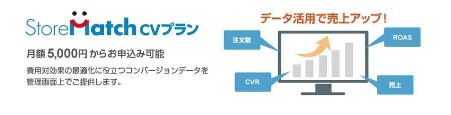 Yahoo!ショッピングストアマッチ広告CVプラン