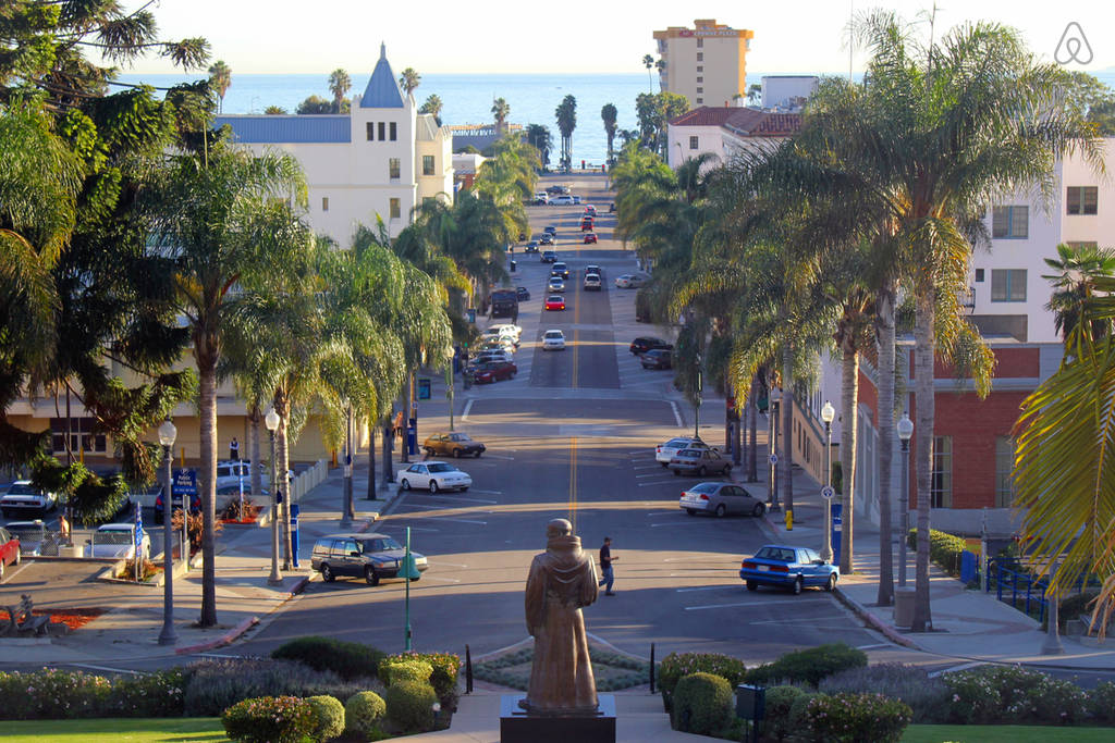 downtown Ventura from City Hall