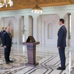 Cabinet-sworn-presidnet-al-Assad 3