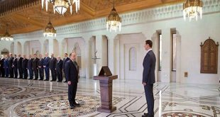 Cabinet-sworn-presidnet-al-Assad