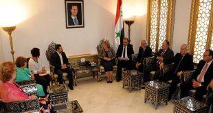 European delegation-People's Assembly Speaker Hadiyeh Abbas