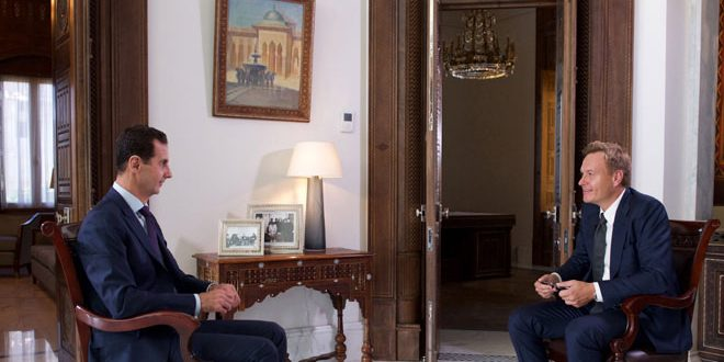 president-al-assad-denmark-tv2-channel-interview-1
