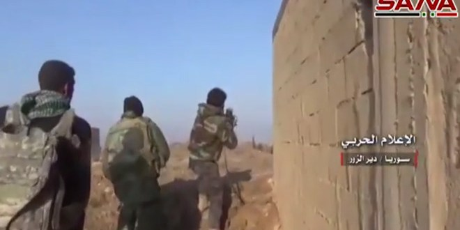 DAYR EL-ZOR: ISIS MELTING AWAY AMIDST HUGE COUNTERATTACKS BY SYRIAN ARMY AND RUSSIAN AIR FORCE; REPRESENTATIVE TULSI GABBARD IN DAMASCUS!! TAKE THAT MCCAIN 1