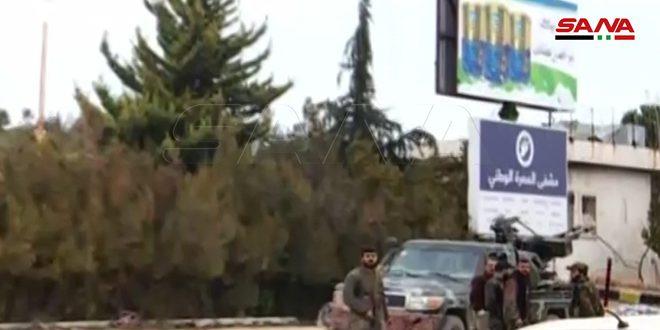 TOTAL LIBERATION OF MA'ARRAT AL-NU'MAAN; 28 TOWNS FREED FROM STINK OF TERRORISM; SARAAQIB NEXT ON THE MENU 1
