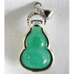 A sample of a Jade Wulou or Holy Gourd. I personally prefer a jade wulou with a darker shade of green. This picture was lifted from Google images.