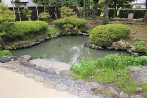 旧横田家住宅の庭園