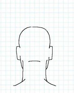 後ろ頭の描き方06
