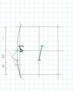 横顔描き方5