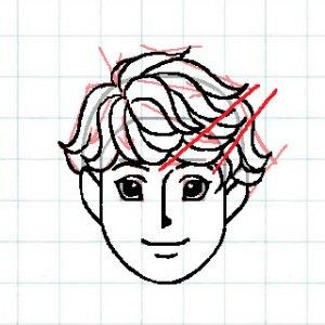マス目の顔10e3