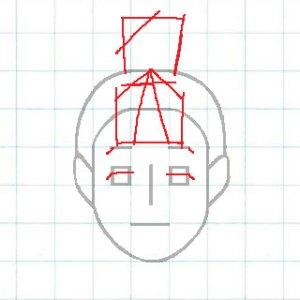 マス目の顔10f2