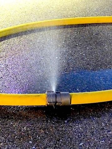 A hose coupling.