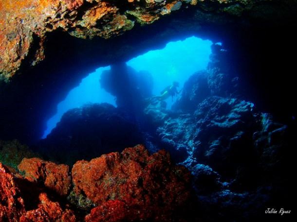 Submarinismo en el Puerto Espíndola · San Andrés y Sauces