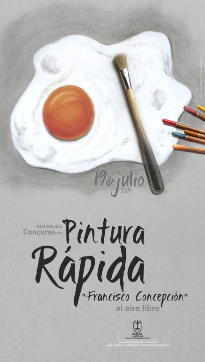 cartel pintura rapida 2014