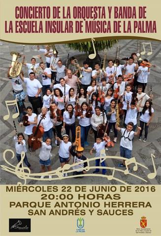 cartel escuela musica