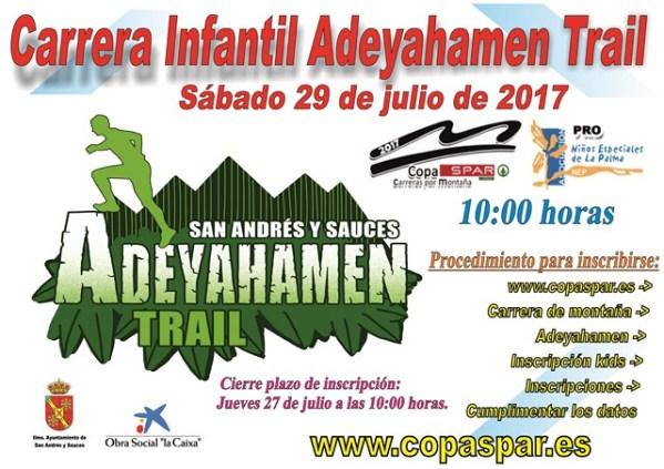 Cartel Adeyahamen Infantil 29 julio 2017