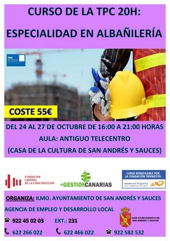 TPC 20H ALBAÑILERÍA