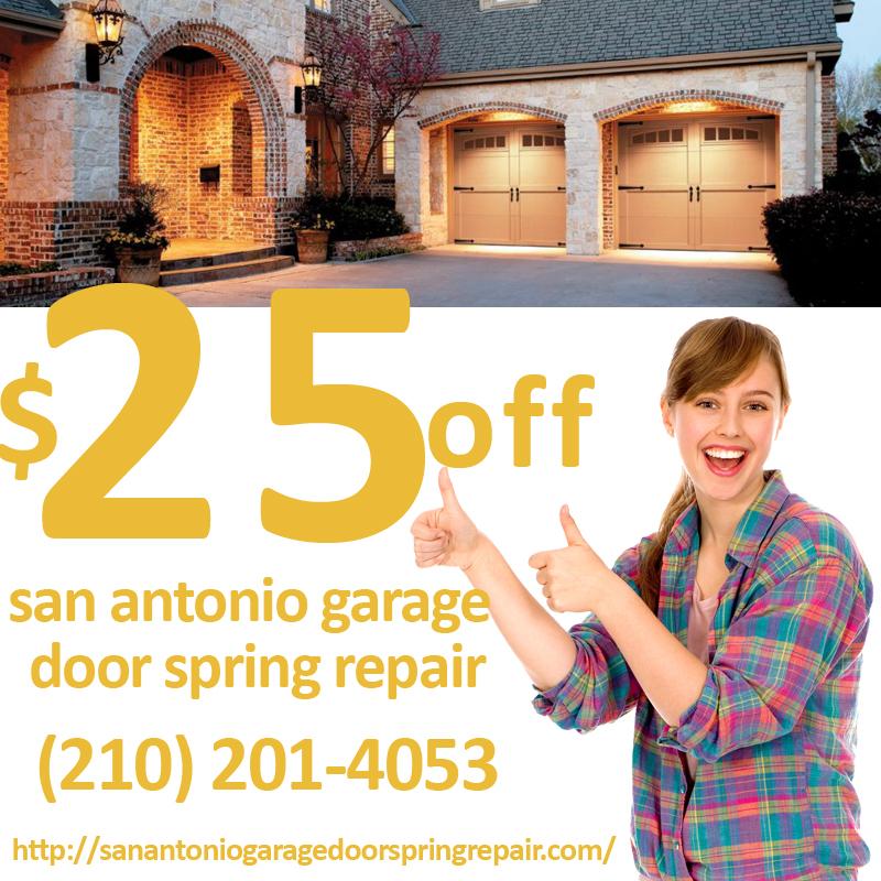 San Antonio Garage Door Spring Repair  Replace Your Springs