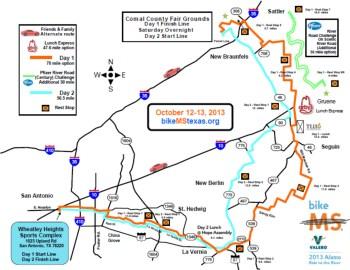 bike-ms-valero-2013-alamo-ride-river-Map