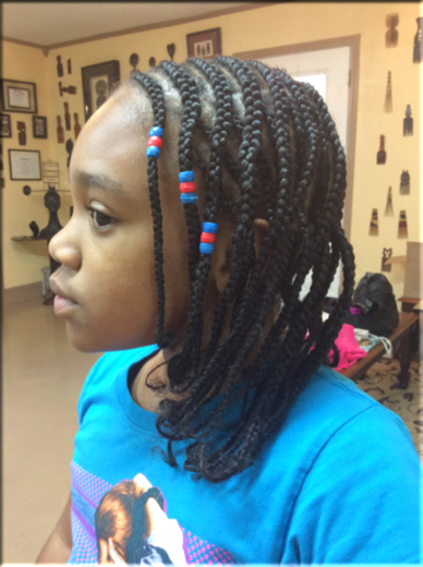 Davette S Kids Natural Cornrows Davette S Natural Comb Free