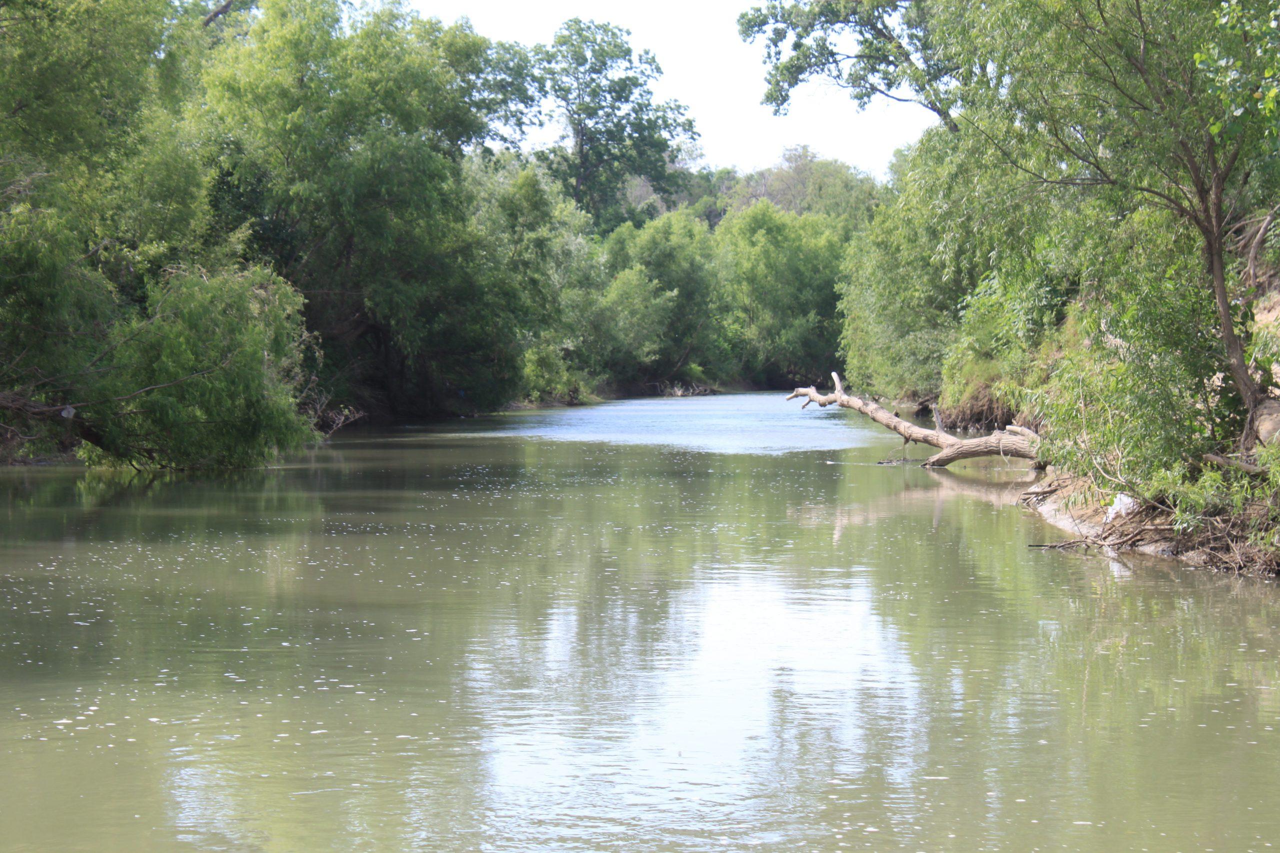 San Antonio River Saspamco Paddling Trail near CR 125 in Wilson County