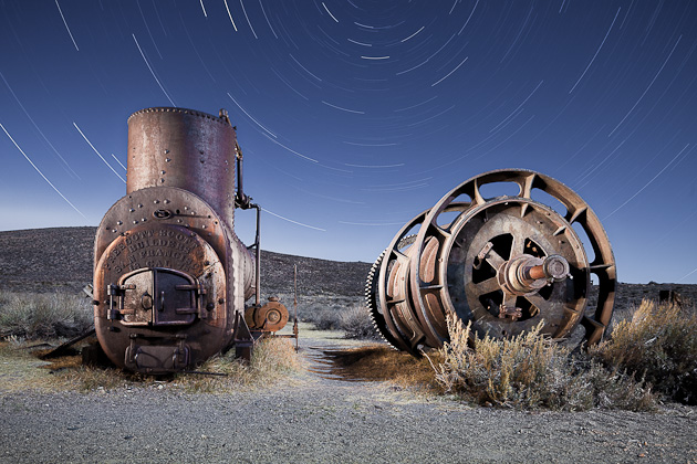 1878 Boiler and Spools by Scott Martin