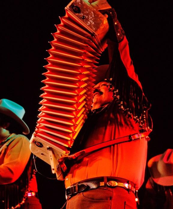 Ramon Ayala at Tejano Conjunto Festival- photo by Al Rendon